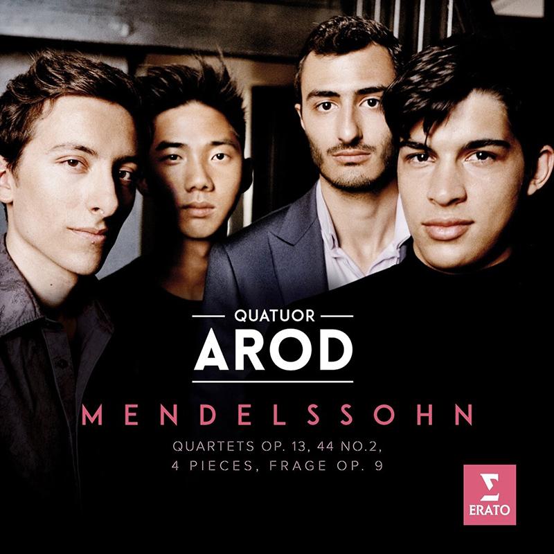 Album Mendelssohn - Quatuor Arod