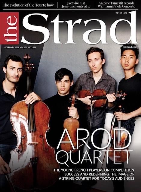 The Strad - Quatuor Arod